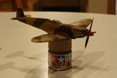 Supermarine Spitfire IXc half-built